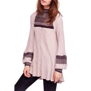 NWT Free People Snow Day Thermal Top Tunic